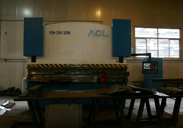 PSH-250-3200数控弯板机